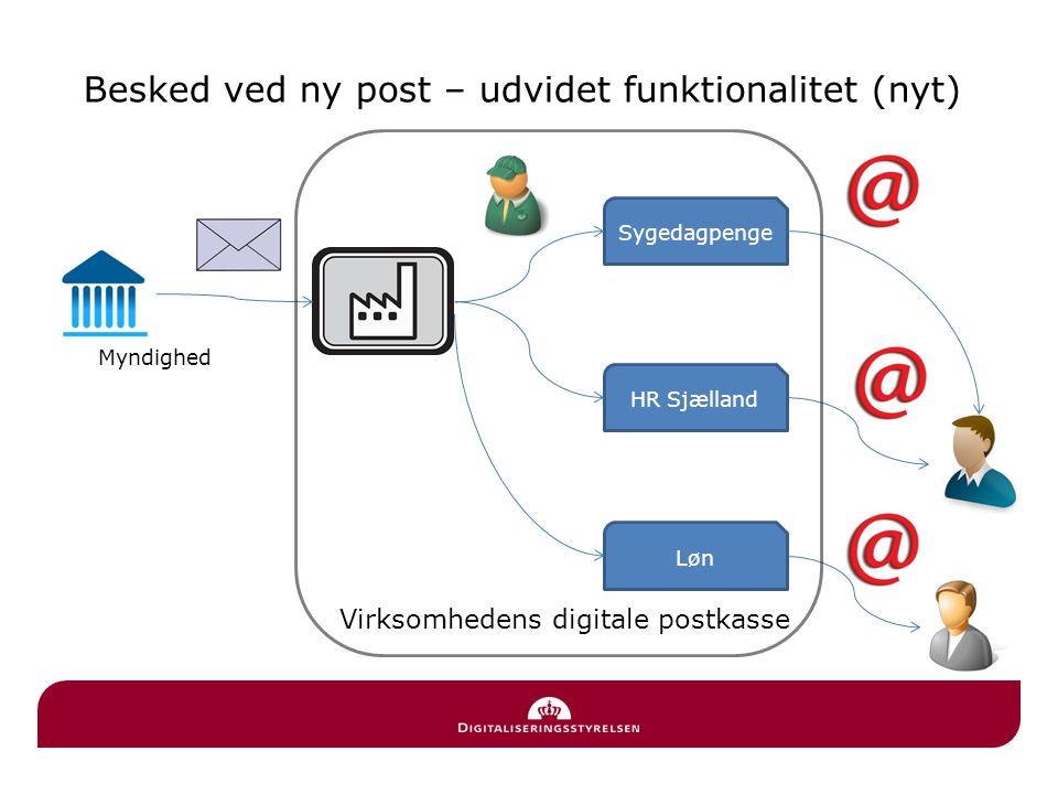 Besked ved ny post – udvidet funktionalitet (nyt)