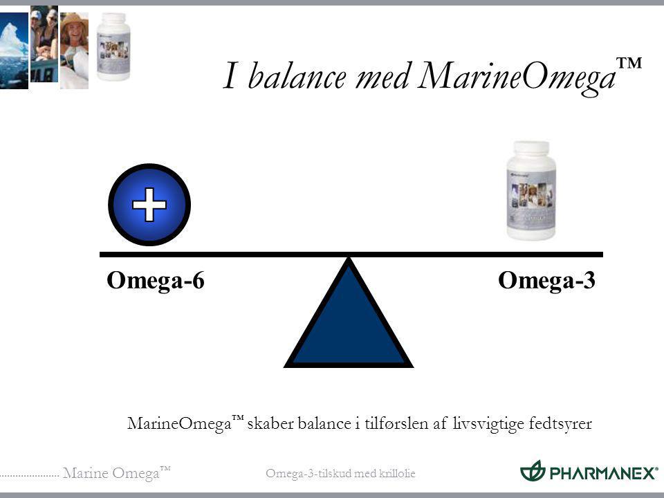 I balance med MarineOmega™
