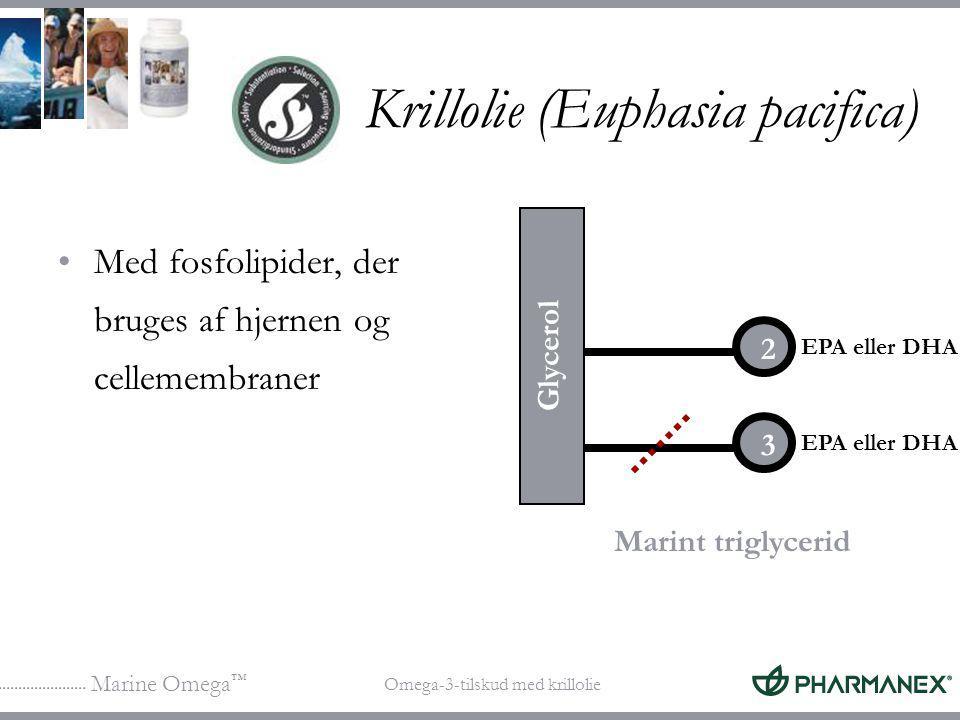 Krillolie (Euphasia pacifica)