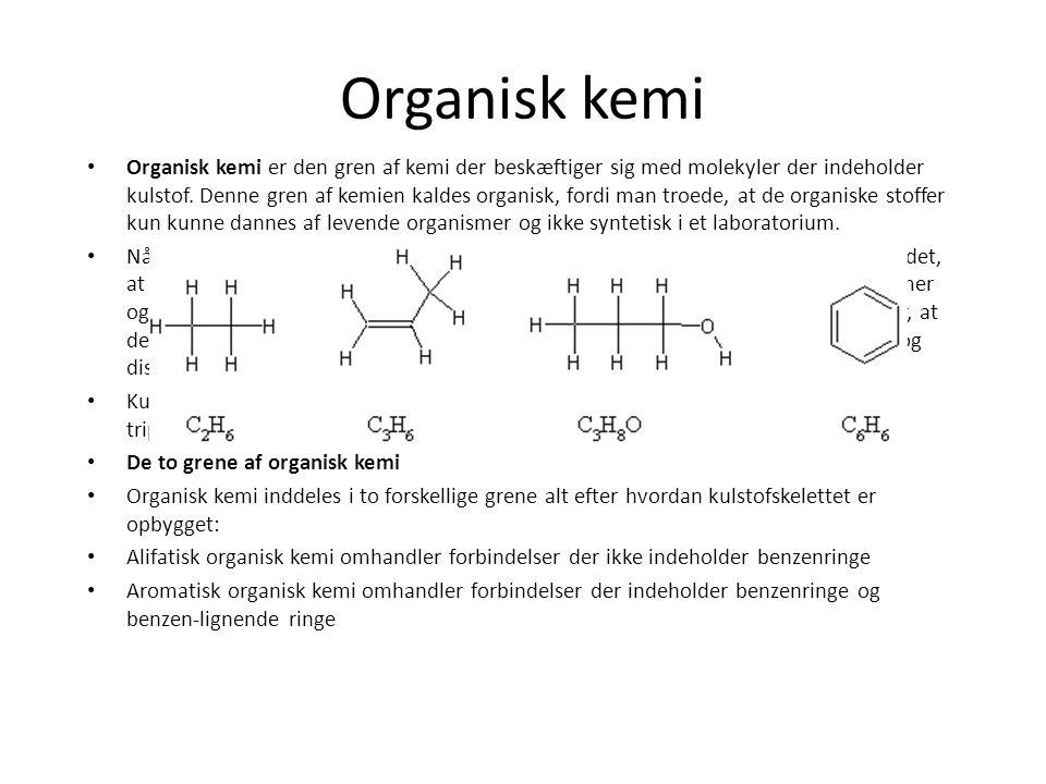 Organisk kemi