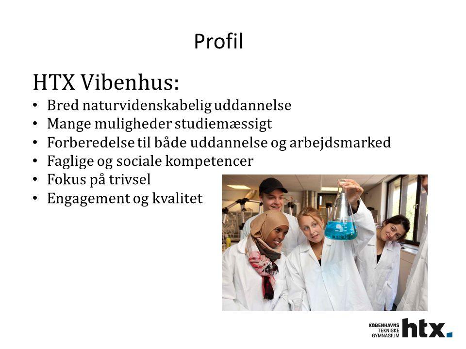 Profil HTX Vibenhus: Bred naturvidenskabelig uddannelse