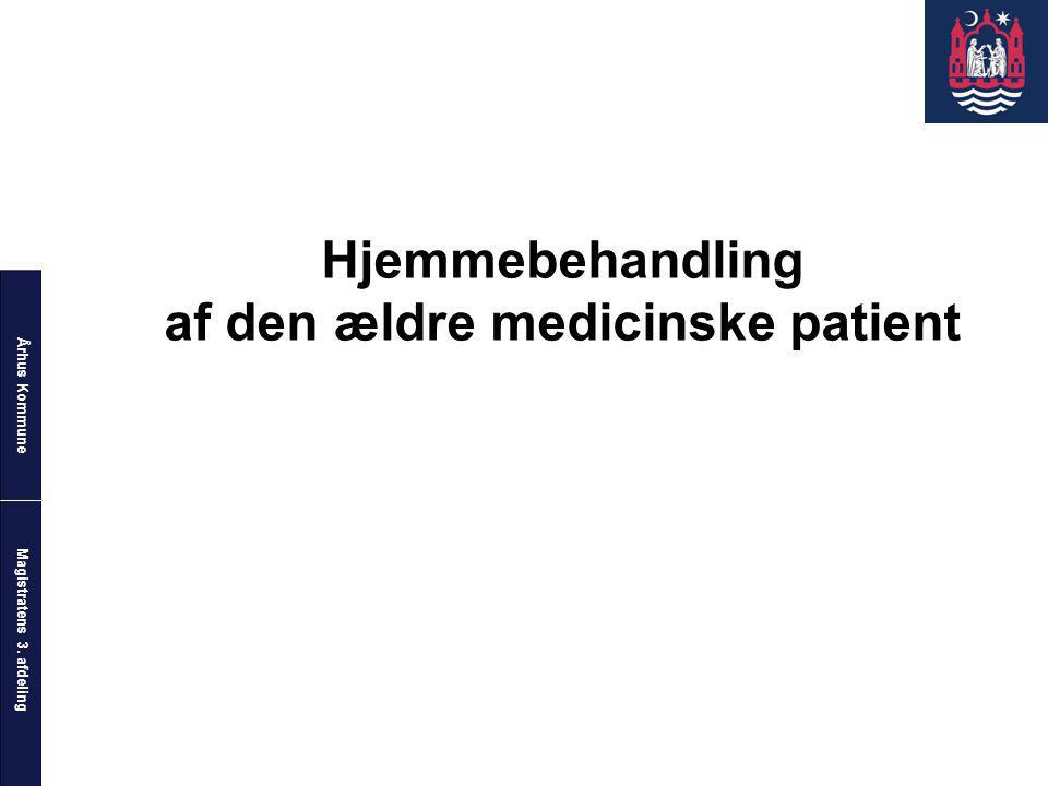 af den ældre medicinske patient