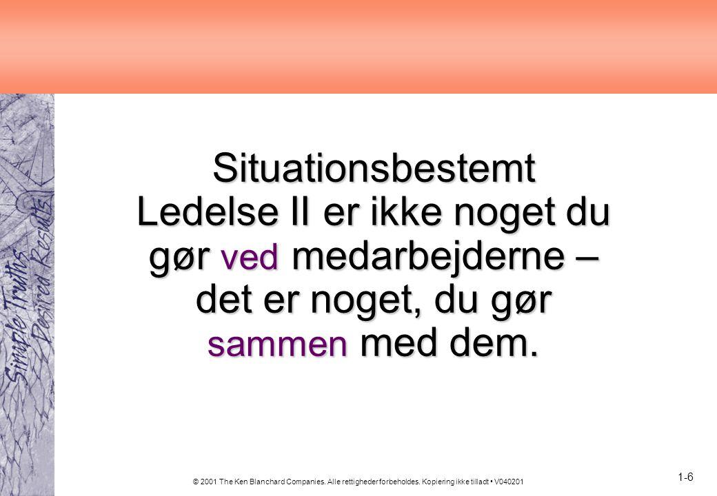 Situationsbestemt Ledelse II er ikke noget du gør ved medarbejderne – det er noget, du gør sammen med dem.