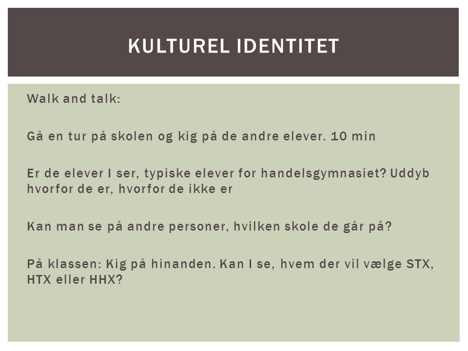 Kulturel identitet