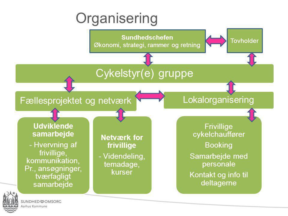 Udviklende samarbejde Netværk for frivillige