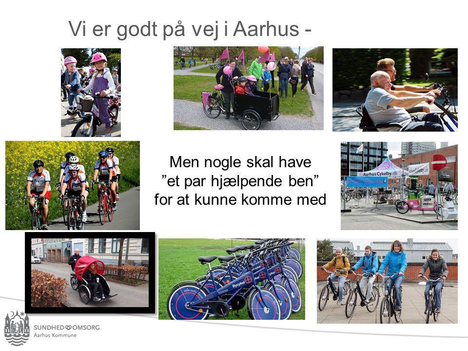 Vi er godt på vej i Aarhus -