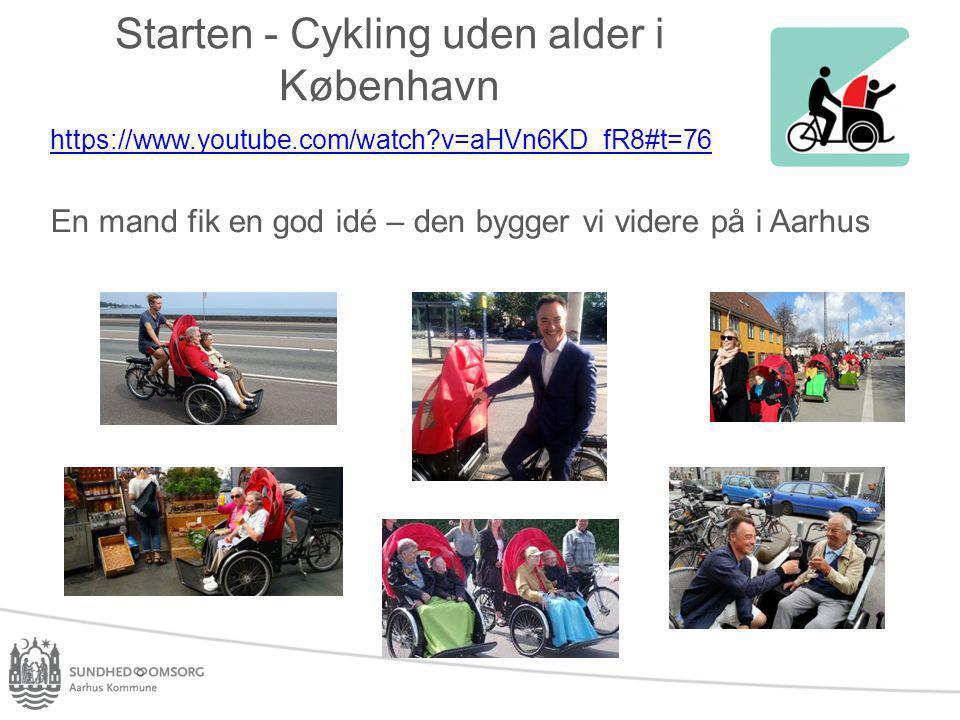 Starten - Cykling uden alder i København