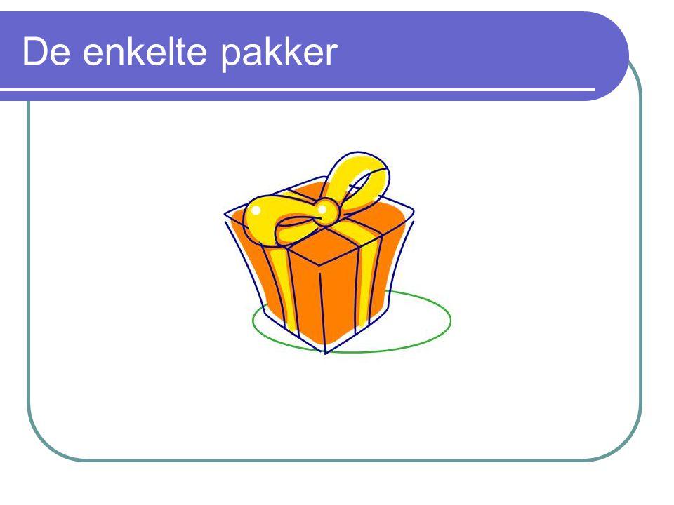 De enkelte pakker