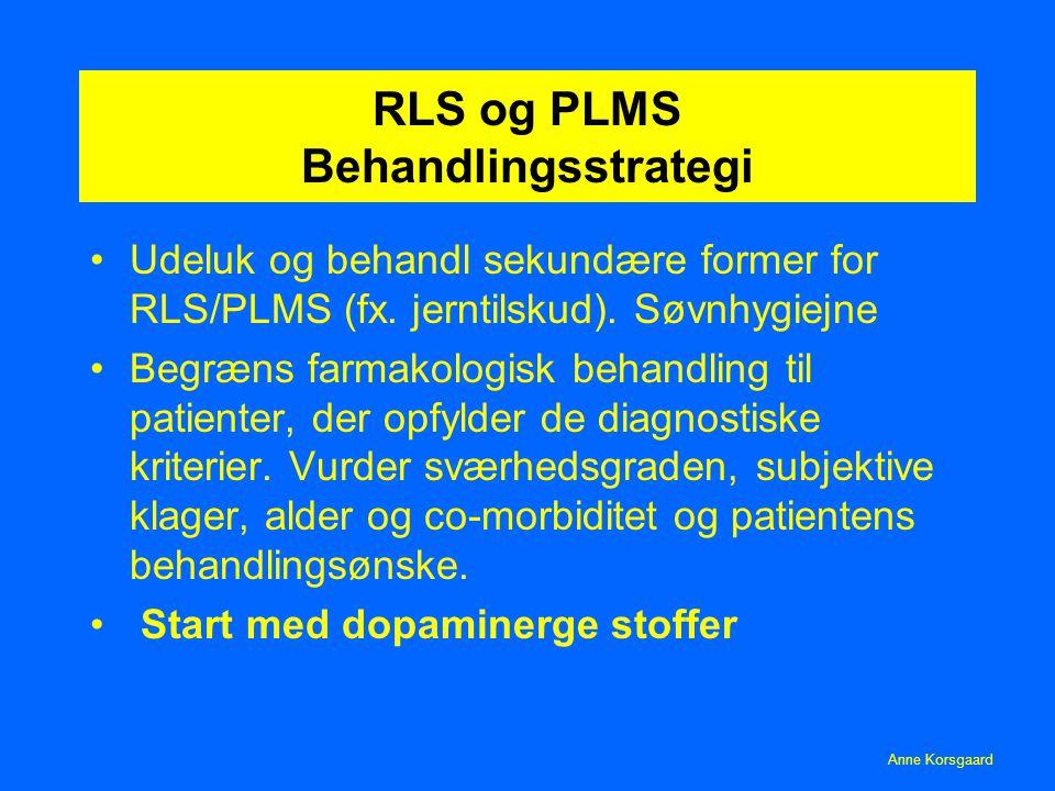 restless legs syndrom dansk