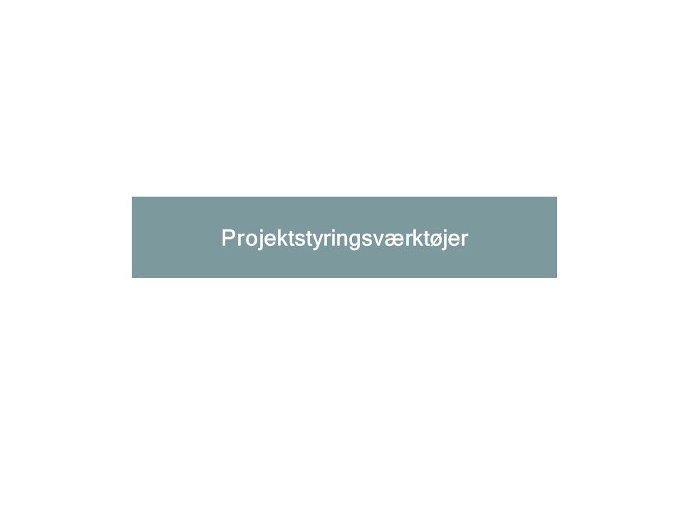 Projektstyringsværktøjer