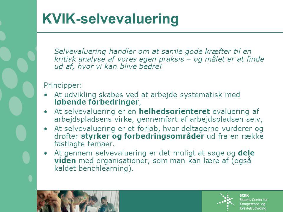 KVIK-selvevaluering