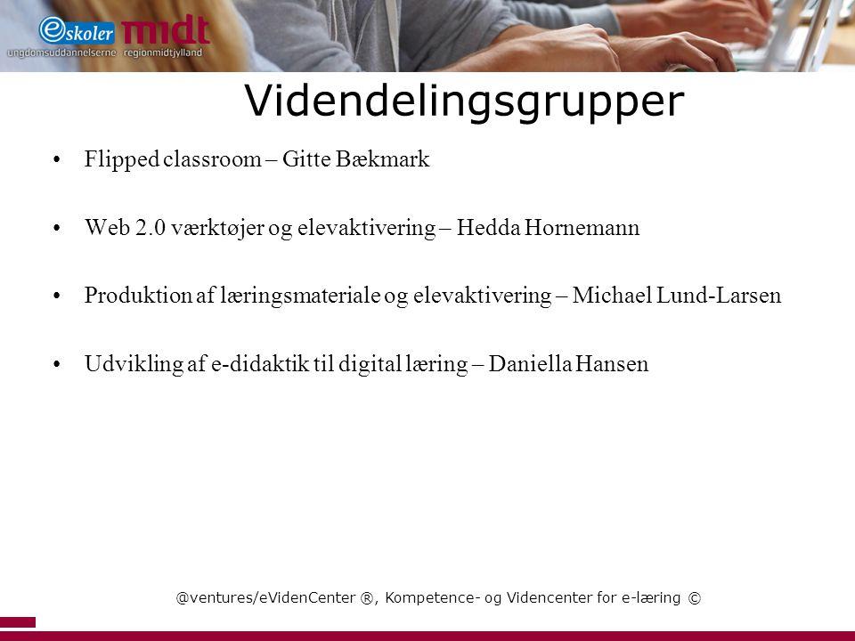 @ventures/eVidenCenter ®, Kompetence- og Videncenter for e-læring ©