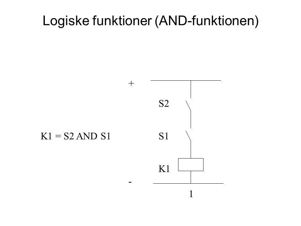 Logiske funktioner (AND-funktionen)