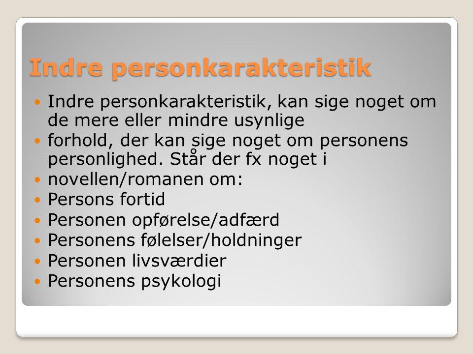 Indre personkarakteristik