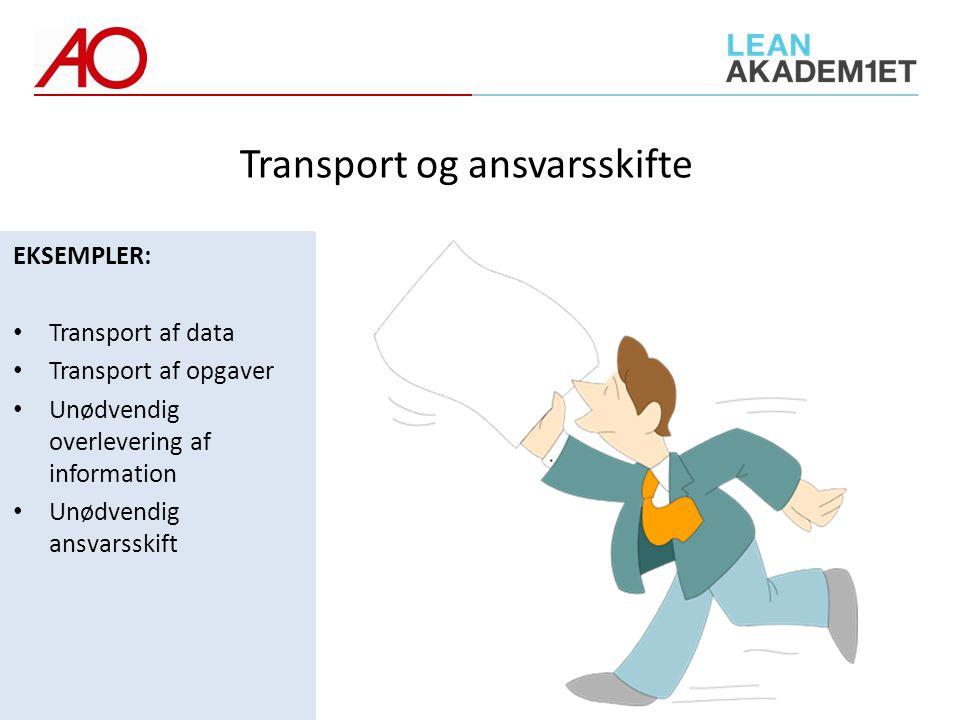 Transport og ansvarsskifte
