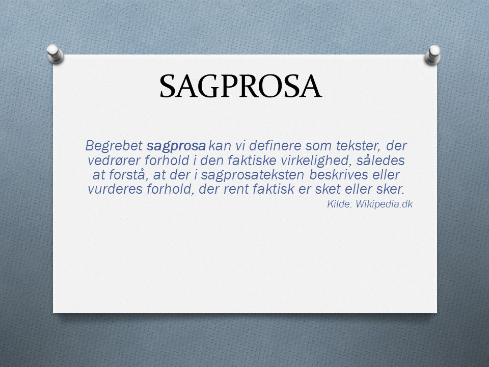 SAGPROSA