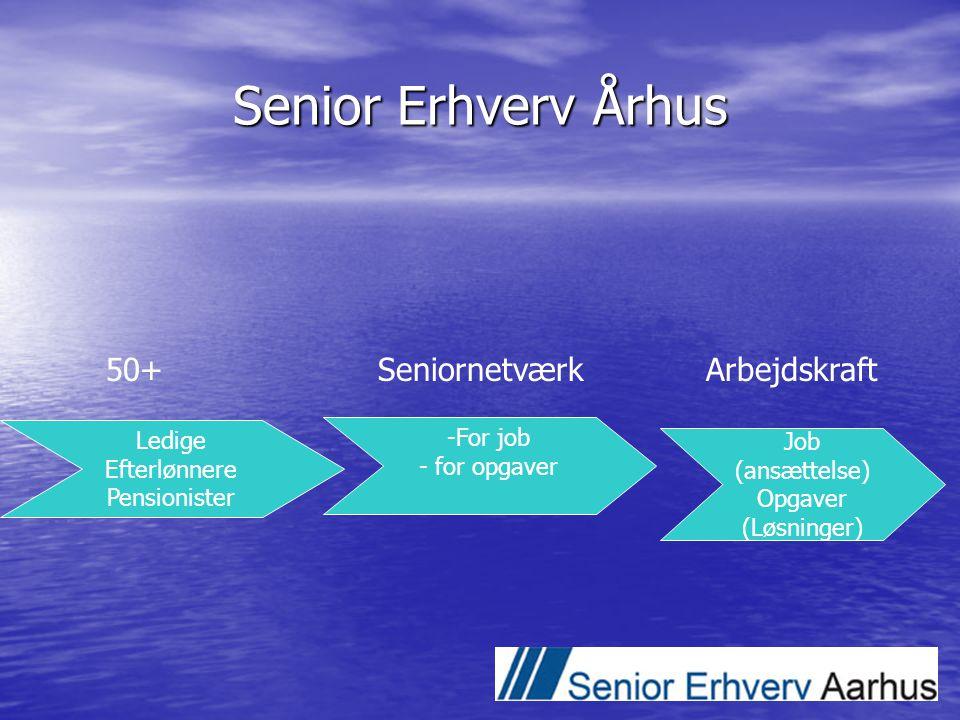 Senior Erhverv Århus 50+ Seniornetværk Arbejdskraft Ledige For job