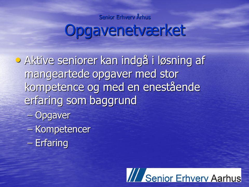 Senior Erhverv Århus Opgavenetværket