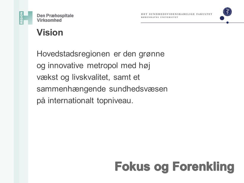 Fokus og Forenkling Vision