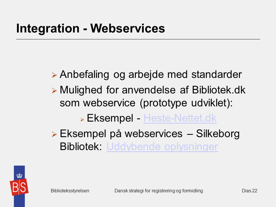 Integration - Webservices