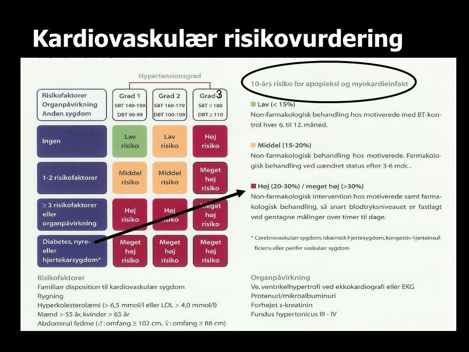 Kardiovaskulær risikovurdering