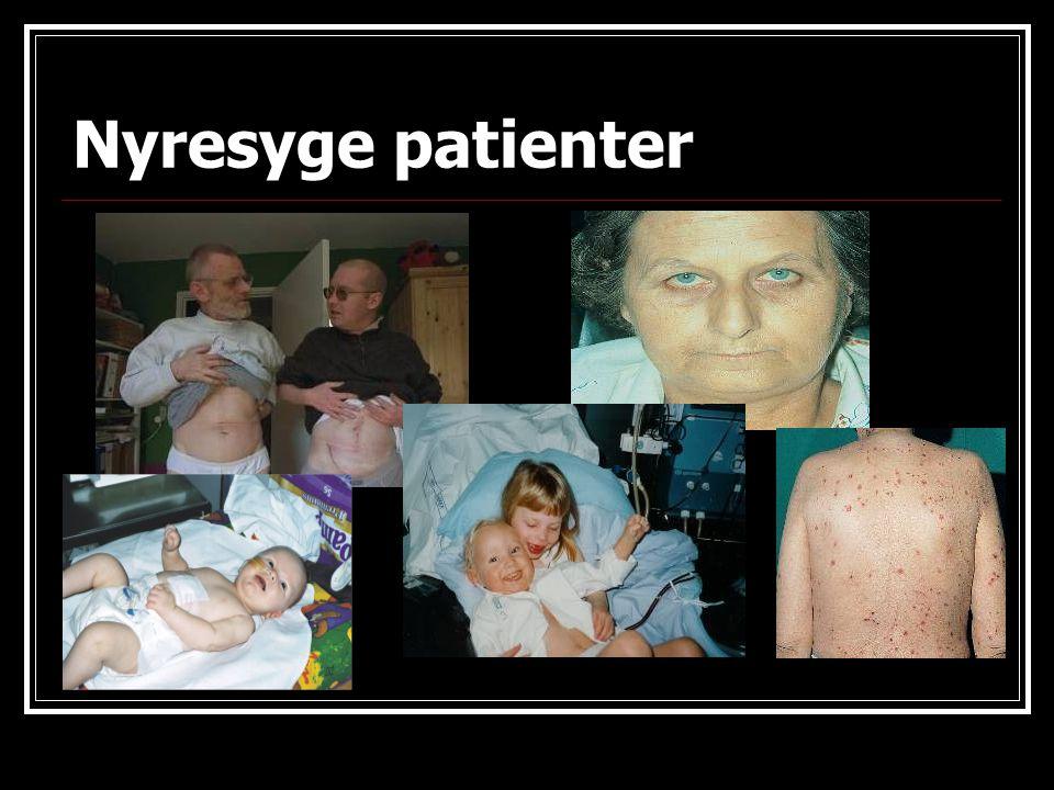 Nyresyge patienter