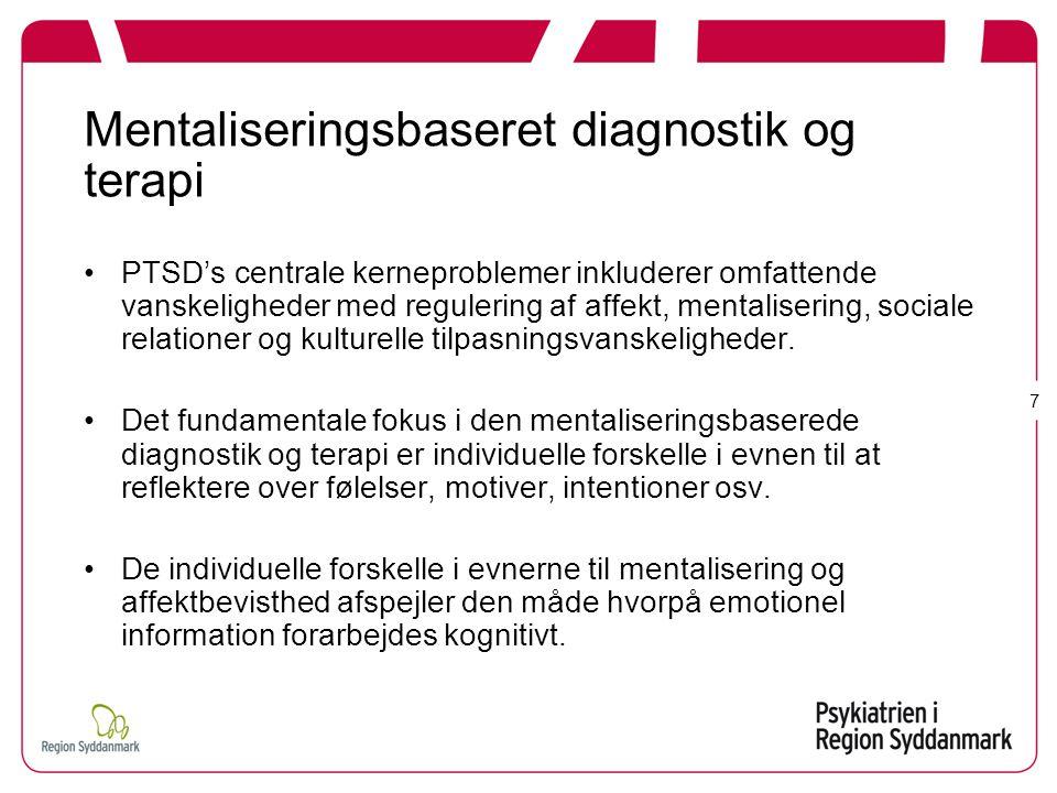 Mentaliseringsbaseret diagnostik og terapi