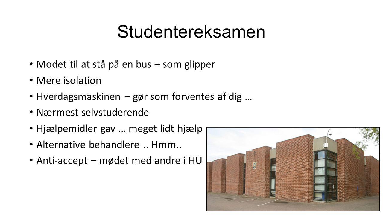 Studentereksamen Modet til at stå på en bus – som glipper