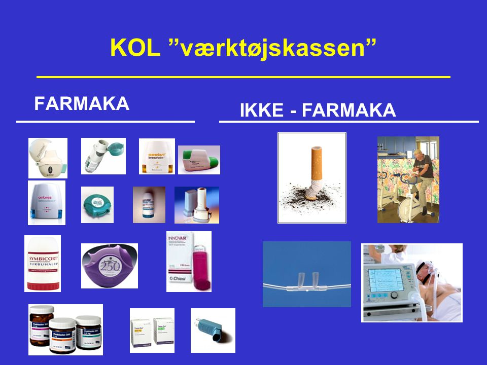KOL værktøjskassen FARMAKA IKKE - FARMAKA