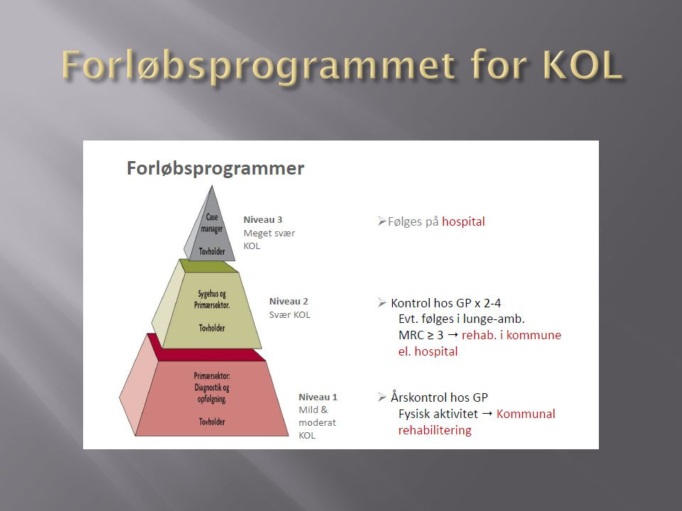 Forløbsprogrammet for KOL