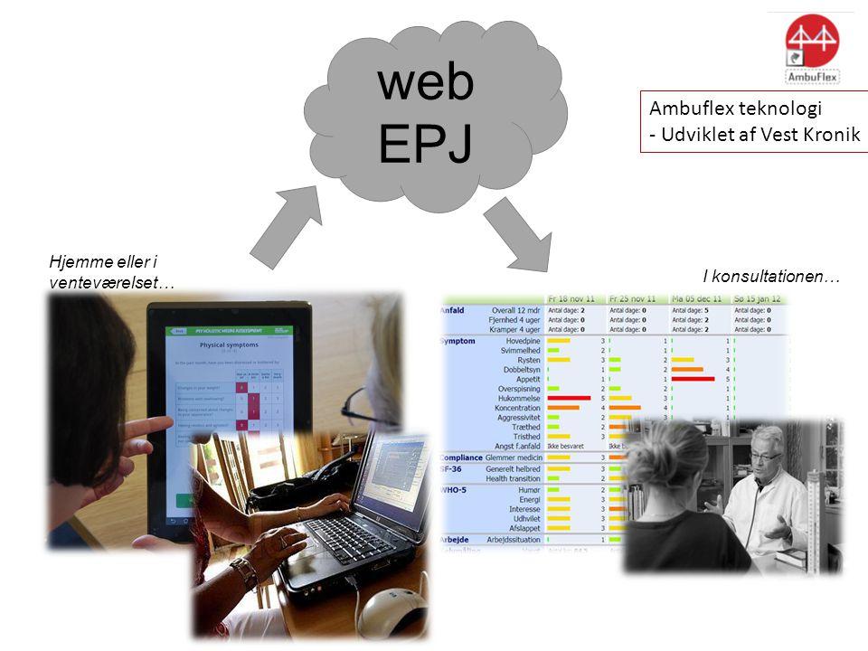 web Model 2 EPJ Ambuflex teknologi - Udviklet af Vest Kronik