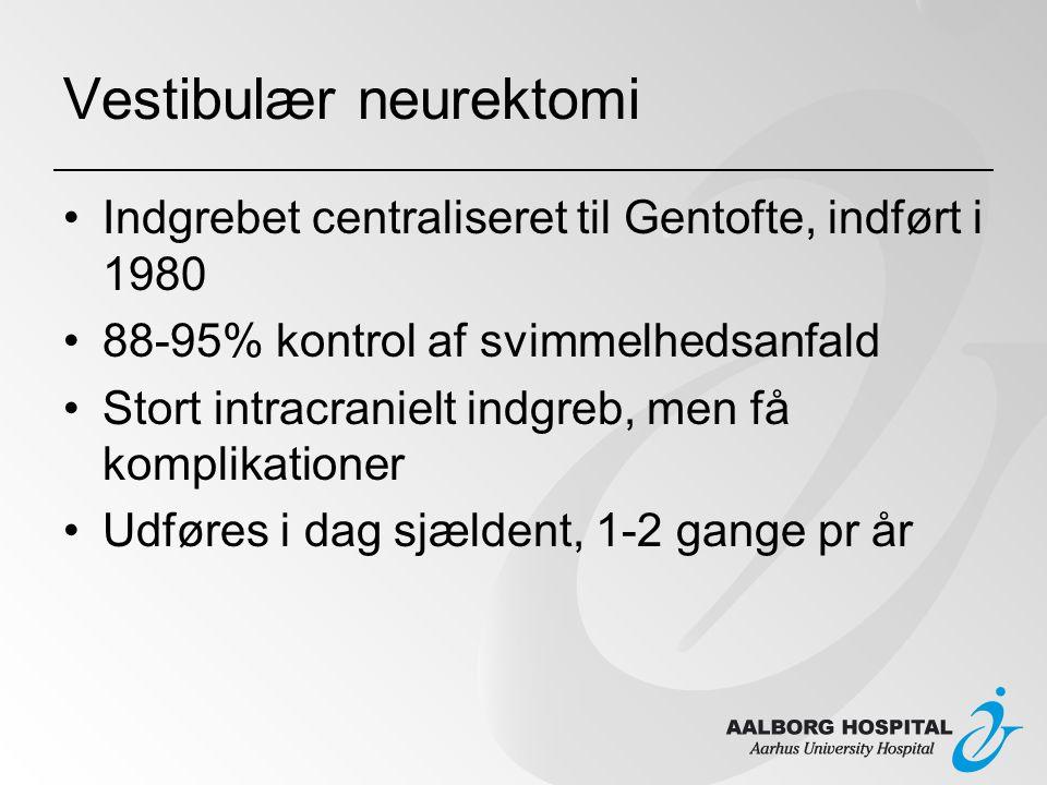 Vestibulær neurektomi