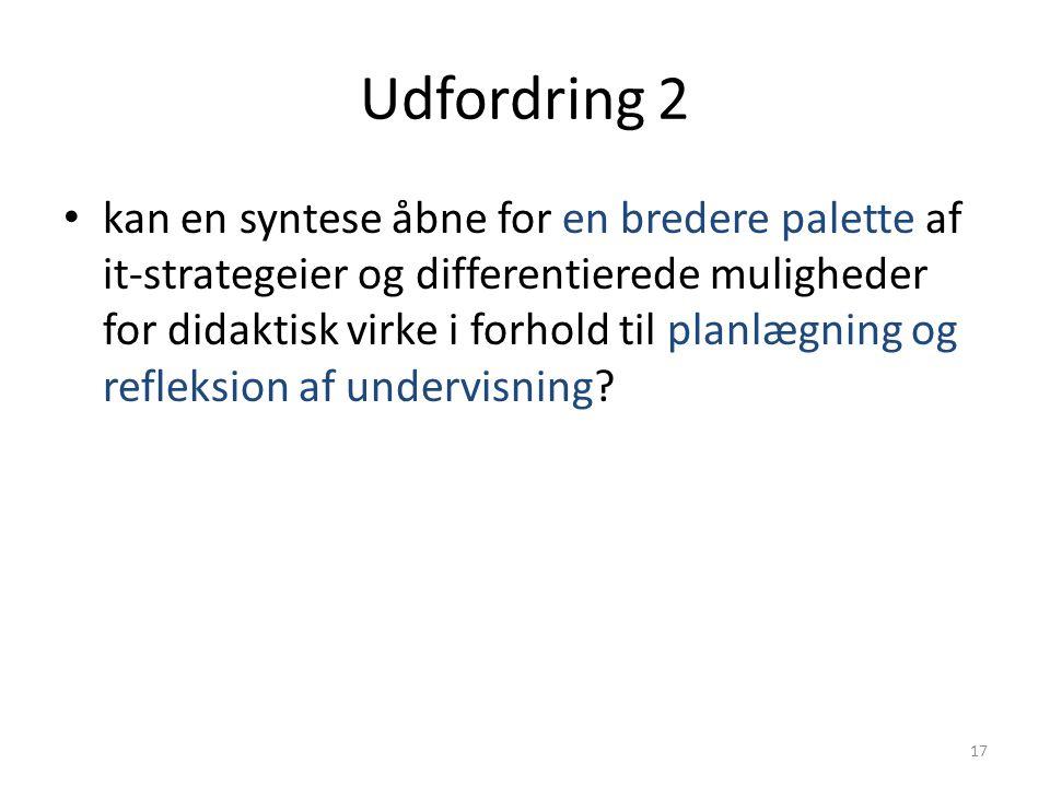 Udfordring 2
