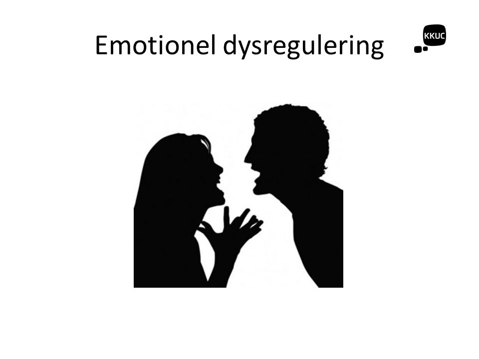 Emotionel dysregulering