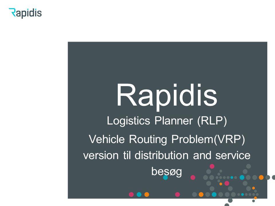 Logistics Planner (RLP)
