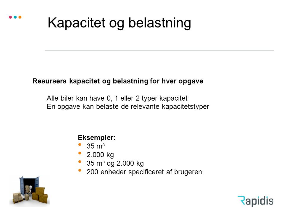 Kapacitet og belastning