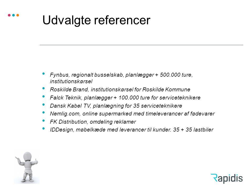 Udvalgte referencer Fynbus, regionalt busselskab, planlægger + 500.000 ture, institutionskørsel.