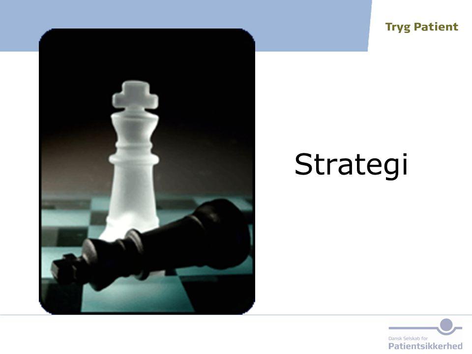 Strategi Den første strategi kommer her og handler om en metode til at opnå enighed om, hvordan man kan kommunikere, nemlig tjeklister.
