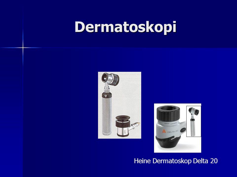 Dermatoskopi Heine Dermatoskop Delta 20