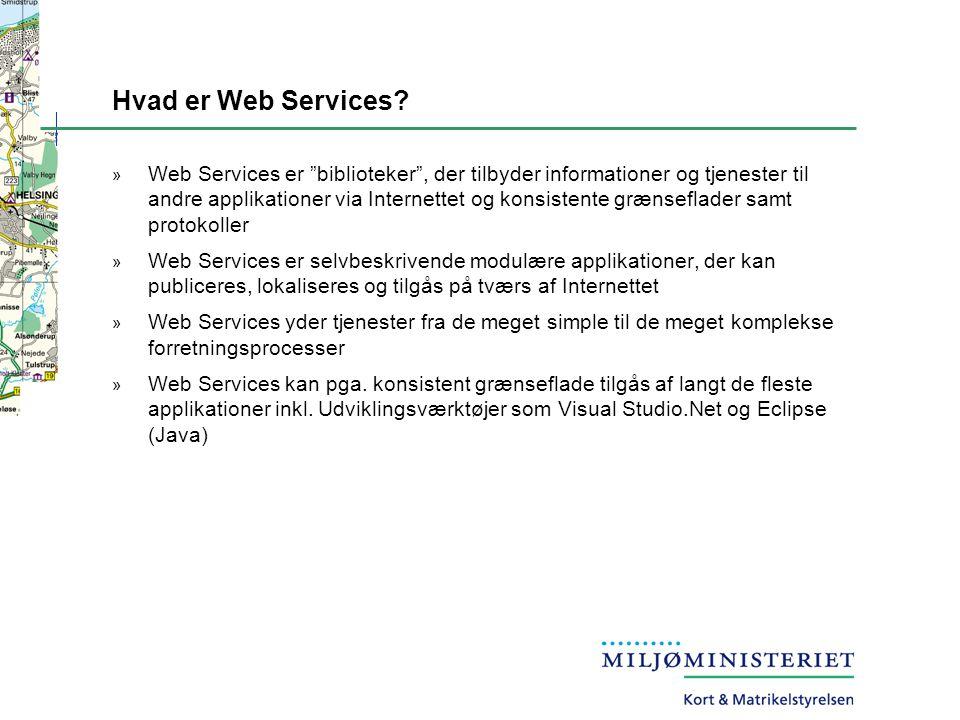 Hvad er Web Services