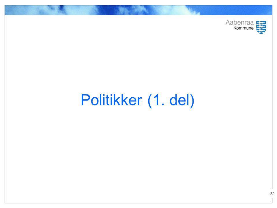 Politikker (1. del)