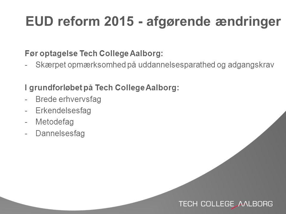EUD reform 2015 - afgørende ændringer