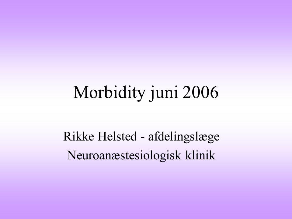 Rikke Helsted - afdelingslæge Neuroanæstesiologisk klinik