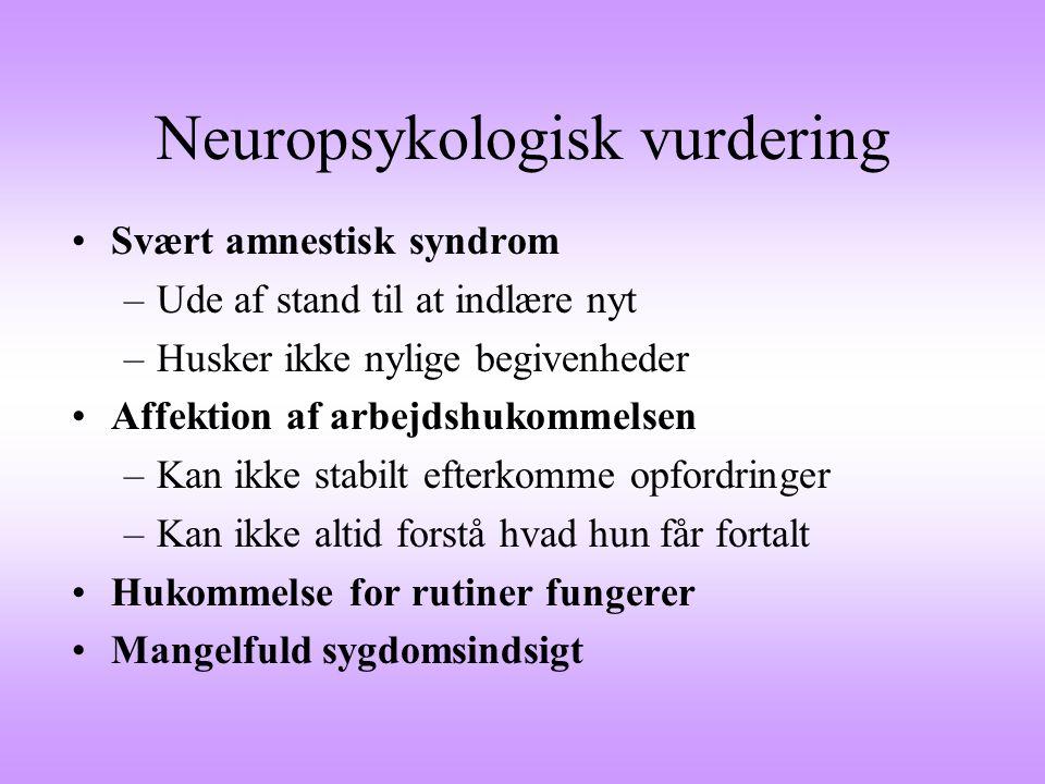 Neuropsykologisk vurdering