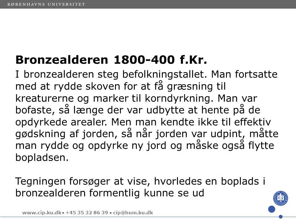 Bronzealderen 1800-400 f.Kr.
