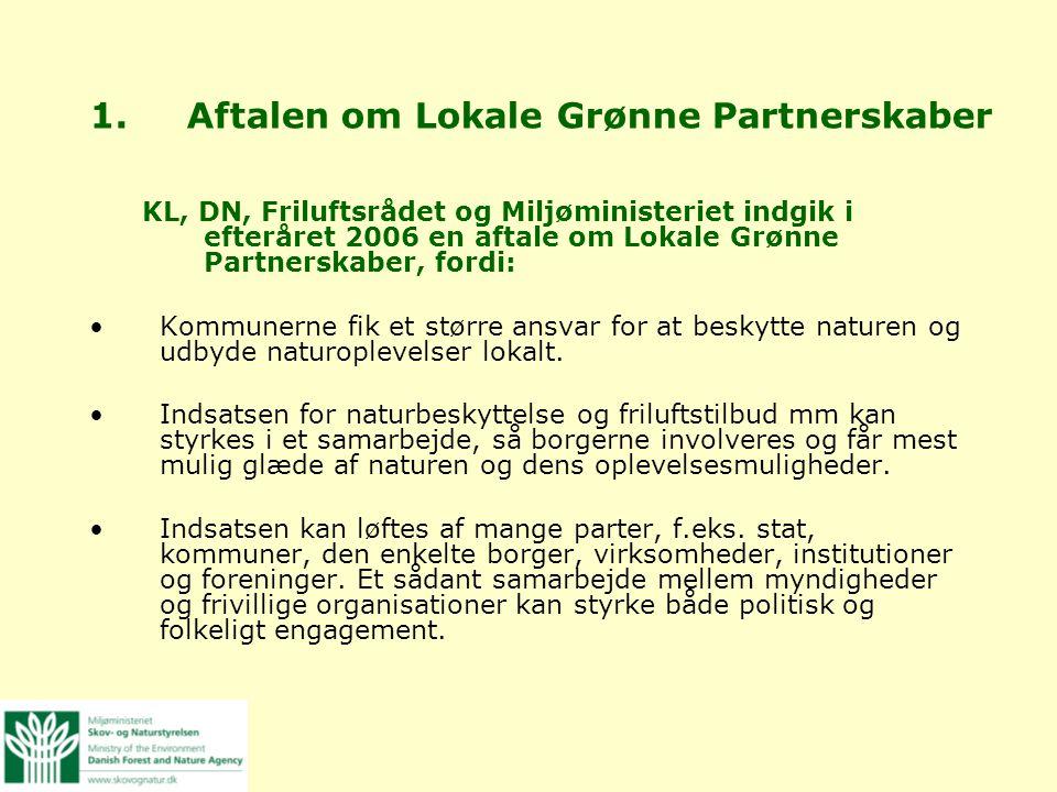 Aftalen om Lokale Grønne Partnerskaber