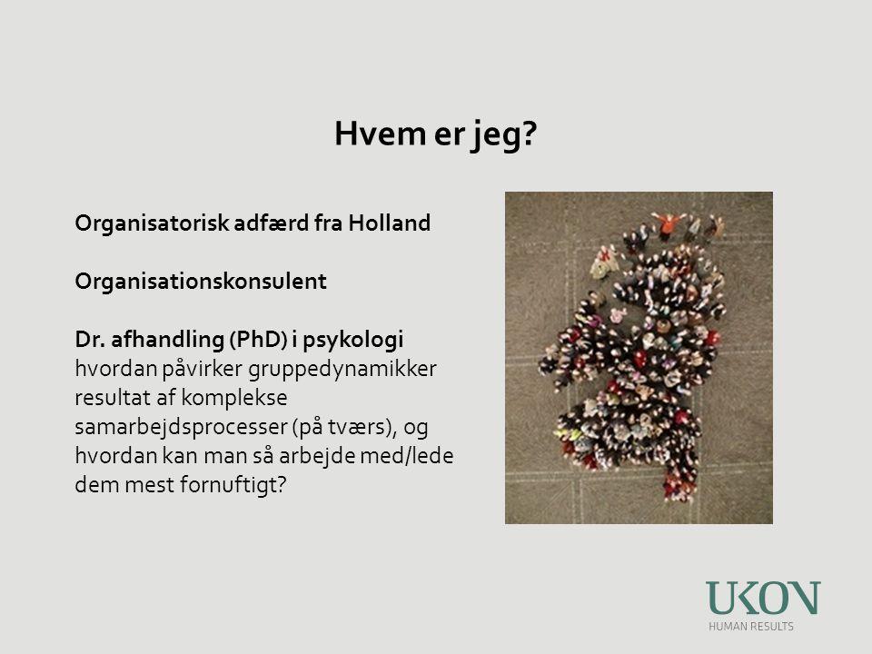 Hvem er jeg Organisatorisk adfærd fra Holland Organisationskonsulent
