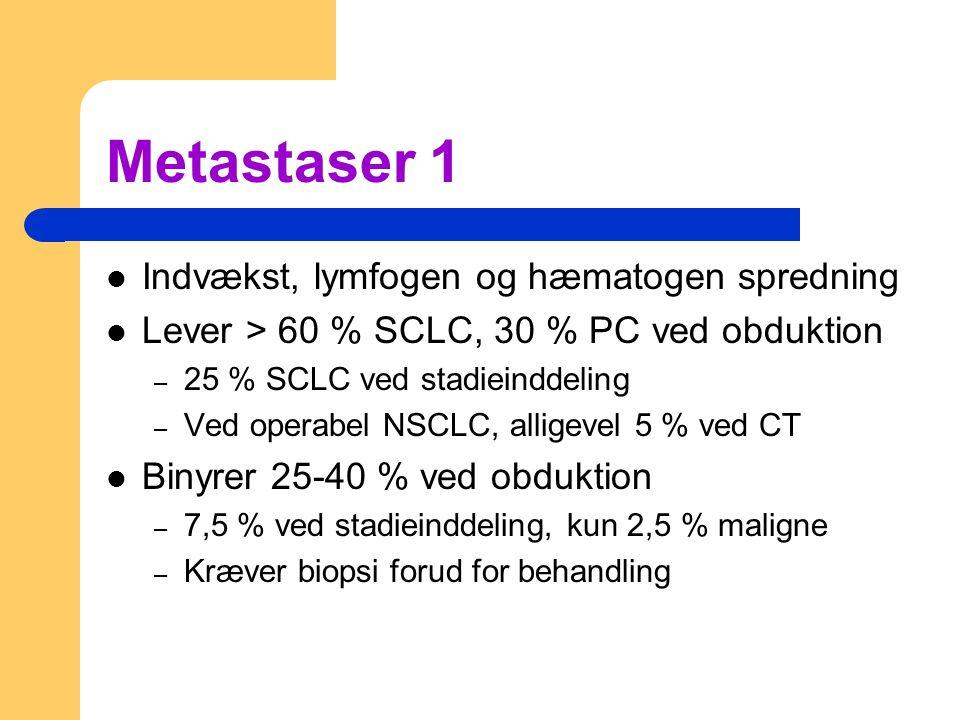 Metastaser 1 Indvækst, lymfogen og hæmatogen spredning