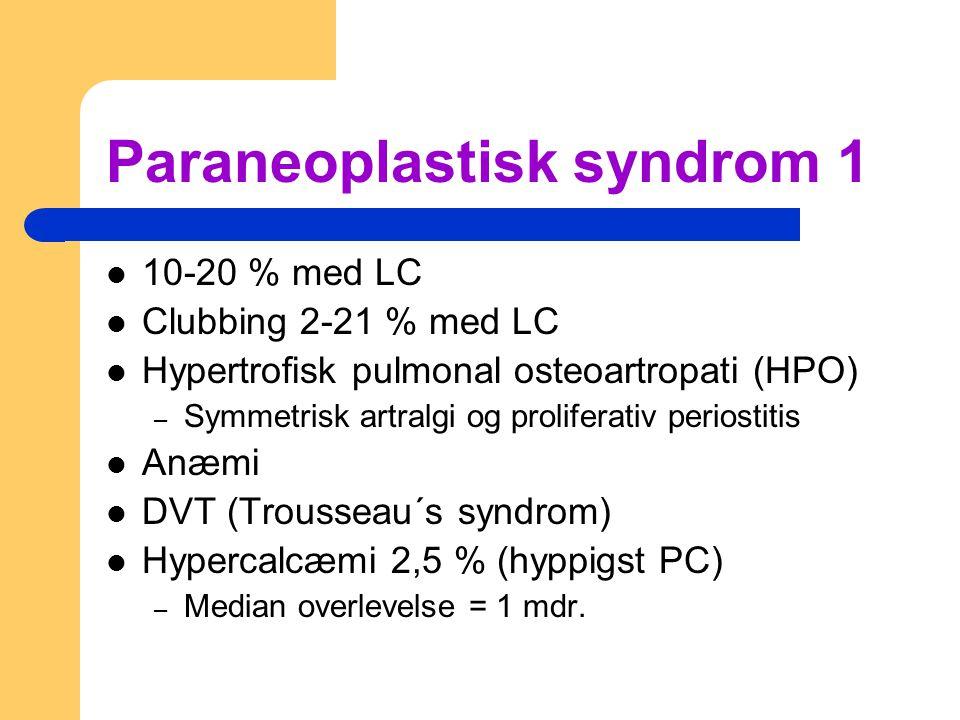 Paraneoplastisk syndrom 1