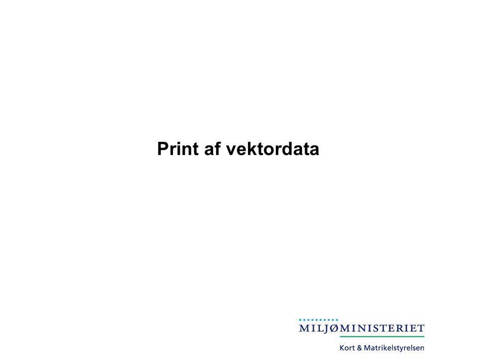 Print af vektordata